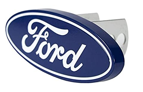 Plasticolor 002236 Ford Oval Hitch Cover - Ford Vehicle Accessories