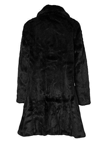 sheego Style Abrigo de otoño tallas grandes Mujer negro