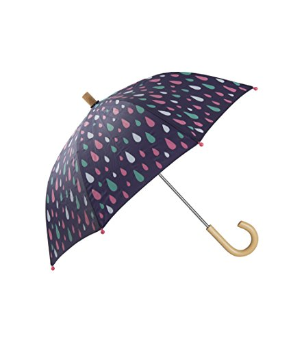 Hatley Little Girls' Printed Umbrellas, Stormy Days, One Size