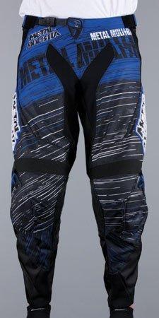 MSR M13 Metal Mulisha Pants , Distinct Name: Maimed, Primary Color: Blue, Size: 34, Gender: Mens/Unisex 351435