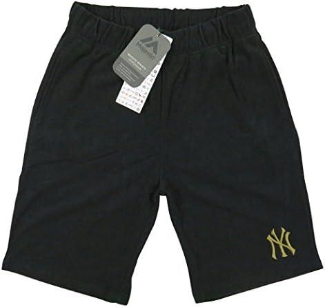 ニューヨーク ヤンキース ロゴ刺繍 パイル地 ショートパンツ