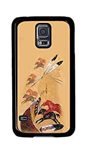 Rugged Samsung Galaxy S5 Case, Horse Vision Custom Design Hard PC Plastic Case Cover for Samsung Galaxy S5 Black