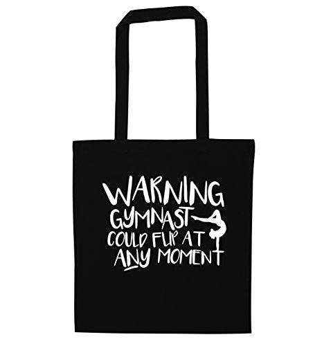 at Warning bag flip moment Black any could tote gymnast qww4O7T