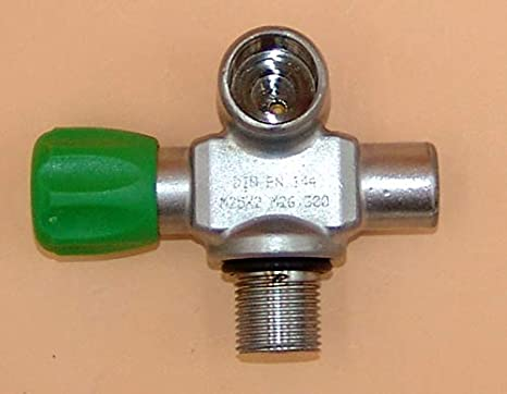 HTD Nitrox M26x2 - Válvula de Puente (presión 300 Bar, Salida de extensión M16
