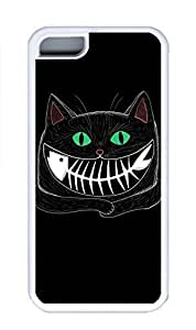 linfengliniPhone 5C Case, Personalized Custom Rubber TPU White Case for iphone 5C - Cat Fish Cover