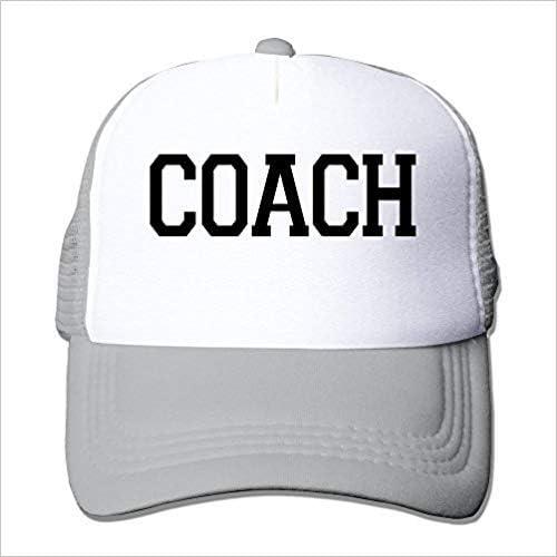 Unisex Coach Adjustable Mesh Cap Ash: Amazon.es: Ropa y accesorios