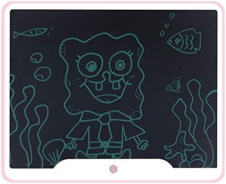 LKJASDHL 15インチLCD手書きボードハイライト太い手書きLcd光エネルギー電子インテリジェント黒板子供の手描画ボードデジタル黒板ペン (色 : ピンク)
