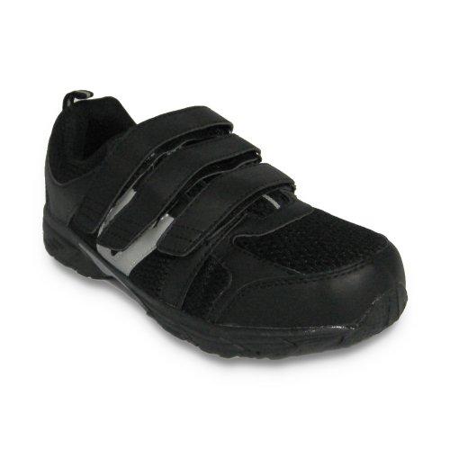 Dr Zen Jordan Women's Comfort Therapeutic Extra Depth Shoe: White/Red 15.0 Wide (E-3E) Velcro by Dr. Zen (Image #2)