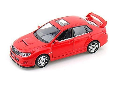 1:36 Scale Subaru WRX STI Race Diecast Model Car Toys with Pull Back action RED Wrx Sti Race