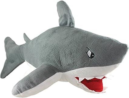 Amazon Com Shop Box Great White Shark Stuffed Animal Giant Plush