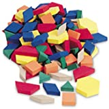 Learning Resources Hands-On Soft Pattern Blocks, Set of 250)  (LER6313), Baby & Kids Zone