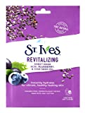 St. Ives Revital Acai Skin Care Sheet Mask, Count of 6