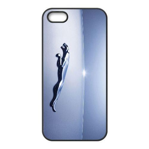 Jaguar 002 coque iPhone 5 5S cellulaire cas coque de téléphone cas téléphone cellulaire noir couvercle EOKXLLNCD24657