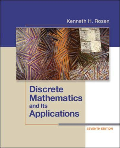 Discrete Mathematics and Its Applications Seventh Edition by imusti