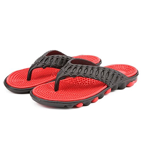 Outdoor o Black Xujw Sandali di da Uomo spiaggia da casual per Sandali 42 Color casa Anti uomo un da And skid Infradito da bagno shoes 2018 Red bagno massaggio And da Blank EU Dimensione gray aFraZw
