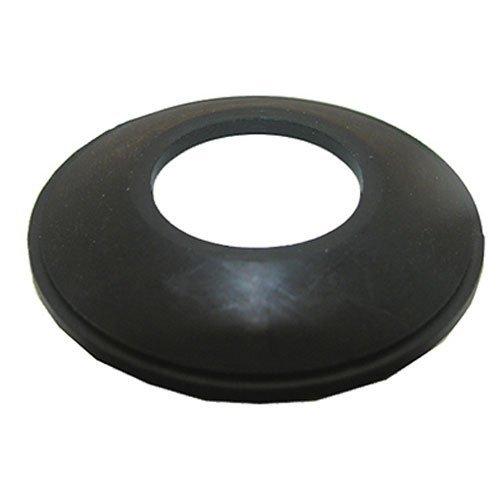 Bathtub Drain Stopper Gasket for Tip-Toe Style Stopper, Black Rubber - By PlumbUSA (Danco Rubber Tub Drain Gasket)