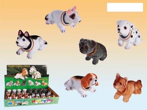 Süßer kleiner Wackelhund (Wackeldackel) in verschiedenen Ausführungen Wackel Hund