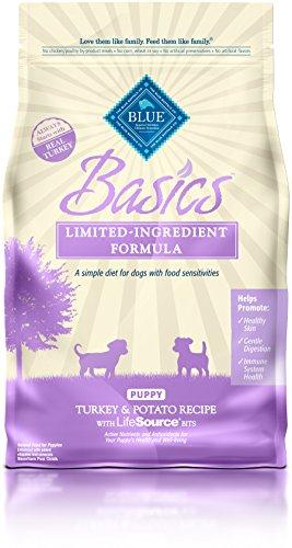 Blue Buffalo Basics Limited Ingredient Diet, Natural Puppy Dry Dog Food, Turkey & Potato 4-lb