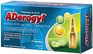 Aderogyl, 1 Ampolleta de 3ml, Vitaminas en Solución para la Prevención y el Tratamiento de la Gripe