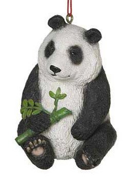 Amazon.com: Panda Christmas Ornament: Home & Kitchen