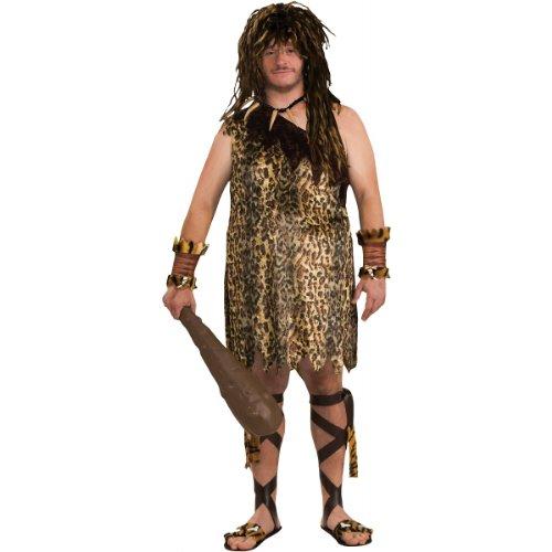Macho Caveman Adult Costume - Plus Size