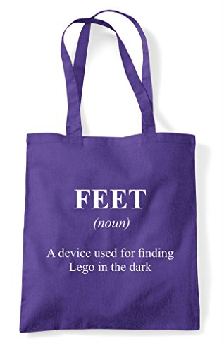 Tote Shopper Not Funny Definition The In Purple Feet Dictionary Bag Alternative q0axnnUR