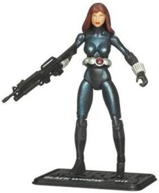 "Marvel Universe 3 3//4/"" 3.75/"" Black Widow Action Figure Series 2 #11 NEW"