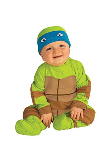 Rubie's Costume Baby's Teenage Mutant Ninja Turtles Animated Series Baby Costume  Multi  6-12 Months -