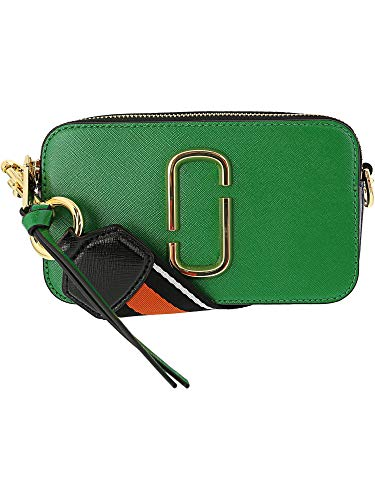 (Marc Jacobs Women's Snapshot Camera Bag, Green Multi, One Size)