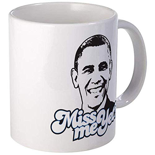 - Obama Miss Me Yet Mug - Ceramic 11oz Coffee/Tea Cup Gift Stocking Stuffer