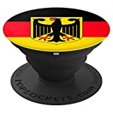 Germany Flag %2D PopSockets Grip and Sta