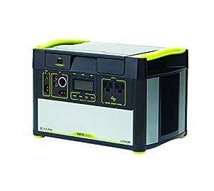"""Goal Zero 38002 Yeti 1400 Lithium Portable Power Station, 10"""" x 15"""" x 10"""", Silver/Black"""