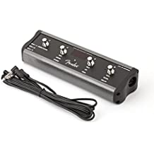 Fender 4-Button Amplifier Footswitch for Mode/Tuner, Bank, Delay with 1/4-Inch Jack