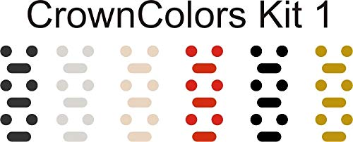(Crown Colors (Black, Grey, Rose, Red, Space, Gold) Customize Your Watch Crown with Colors for Your Apple Watch Crown dial )