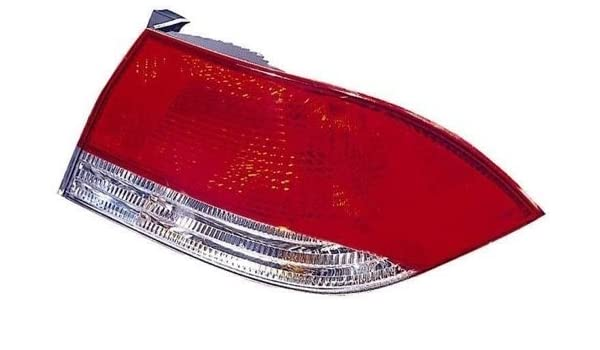 Left Side - Driver for 2002-2003 Mitsubishi Lancer Rear Tail Light Lamp Assembly // Lens // Cover MR522033 MI2800113 Replacement Go-Parts ES + LS + OZ Rally