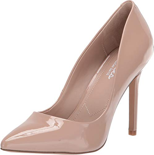 Leather Pumps Charles Patent David - CHARLES BY CHARLES DAVID Women's Palma Nude Patent 8 M US