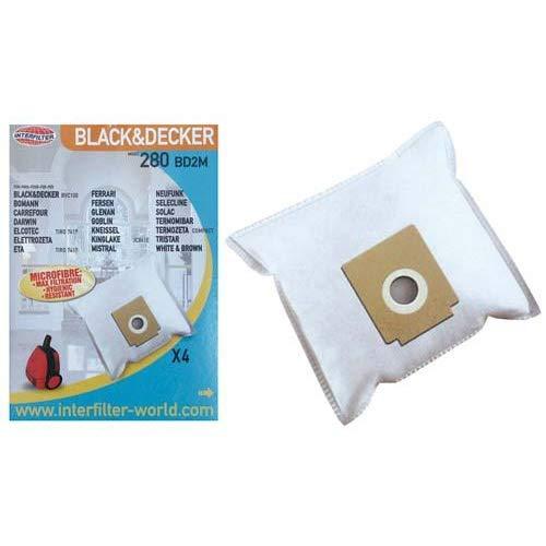 Bluesky - Bolsas para aspirador (x4) - 35600763: Amazon.es ...