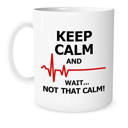 Orthodox Christmas Quotes - Funny Mug -Keep Calm and Wait... Not That Calm - 11 OZ Coffee or Tea Mugs - Funny Inspirational Mug for a Nurse or Doctor – By The Coffee Corner TM …