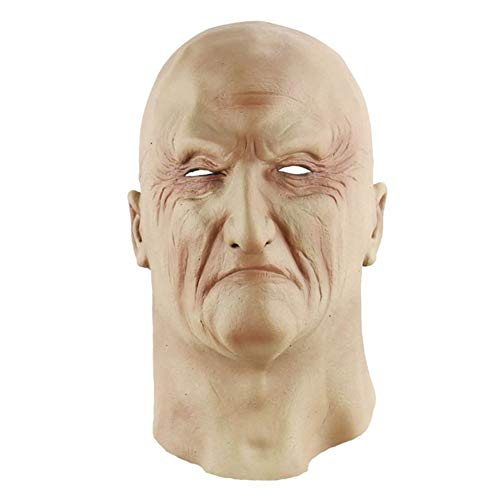 Halloween Adult Latex Scary Mask Full Head Face Breathable Halloween Mask Horrible Mask Fancy Dress Horror -