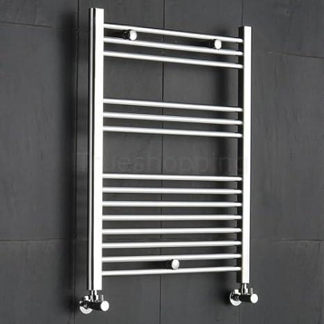 REBAJAS - Radiador Toallero Diseño Plano Para Baño / Cocina / Escaleras - Acero Cromo -