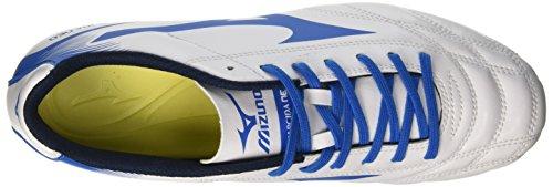Mizuno Monarcida Neo Md - Zapatillas de fútbol Hombre Multicolore (White/DirectoireBlue)