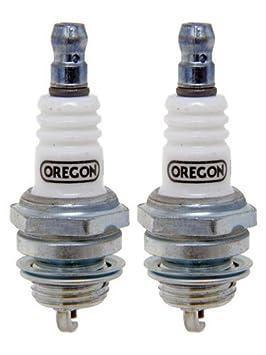Oregon 77-307-1-2pk Bujía de Repuesto para Bosch WSR5F Champion RCj6Y NGK BPMR7A: Amazon.es: Jardín