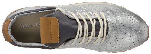 Baskets Marc O'Polo Femme Sneaker Argenté 70713893502102 nFAxFwgq