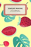 Jewelry making Journal: Cute Colorful Tropical