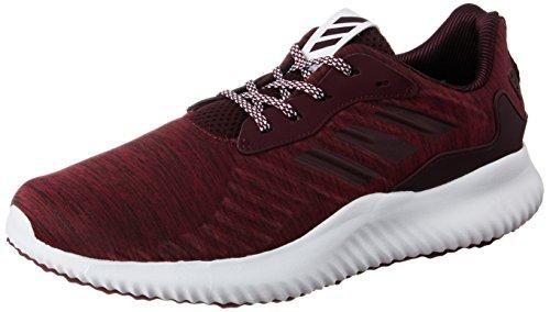 adidas alphabounce rc m - Zapatillas de deporte para Hombre, Rojo - (CHMRMB/GRANAT/FTWBLA) 46