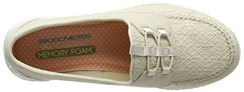 Wave It Sneaker Beige Natural Simple Skechers Keep Donna Lite Htgwdxdq