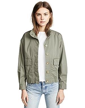 Women's Blousson Bomber Jacket