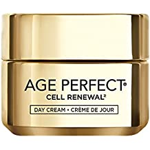L'Oréal Paris Skincare Age Perfect Cell Renewal Day Cream, Anti-Aging Face Moisturizer with SPF 15 to Replump, Refresh and Renew, 1.7 oz.