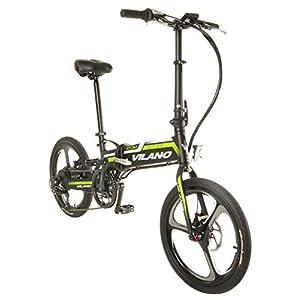 Vilano Atom Electric Folding Bike, 20 Inch Mag Wheels