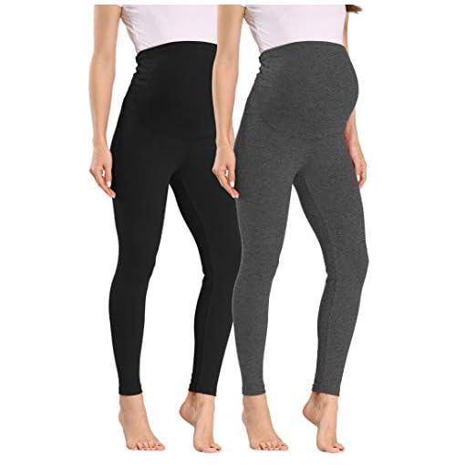 Womens-Maternity-Leggings-Comfortable-Maternity-Yoga-Leggings-Full-Ankle-Length-Pregnancy